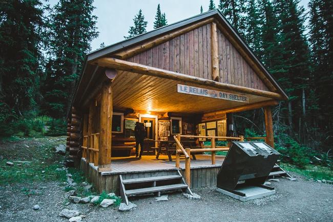 lake O'Hara cabin
