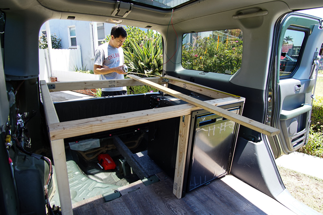 best car camper conversion