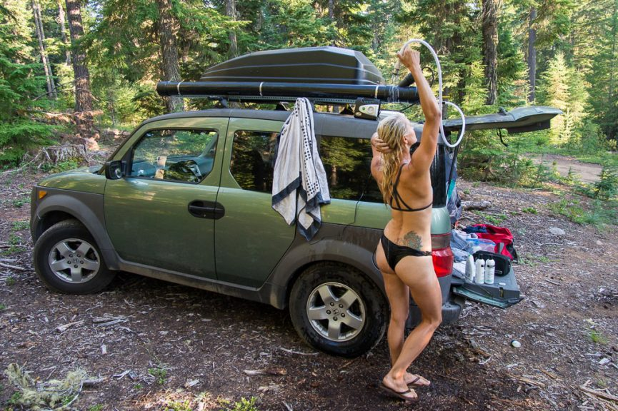 Diy Car Campervan Conversion Suv Honda Element