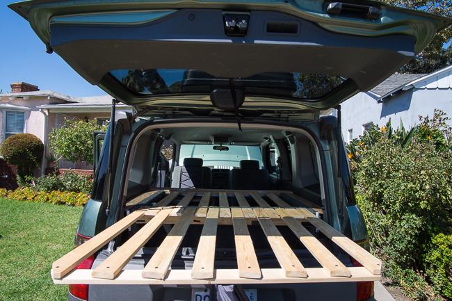 honda camper car conversion