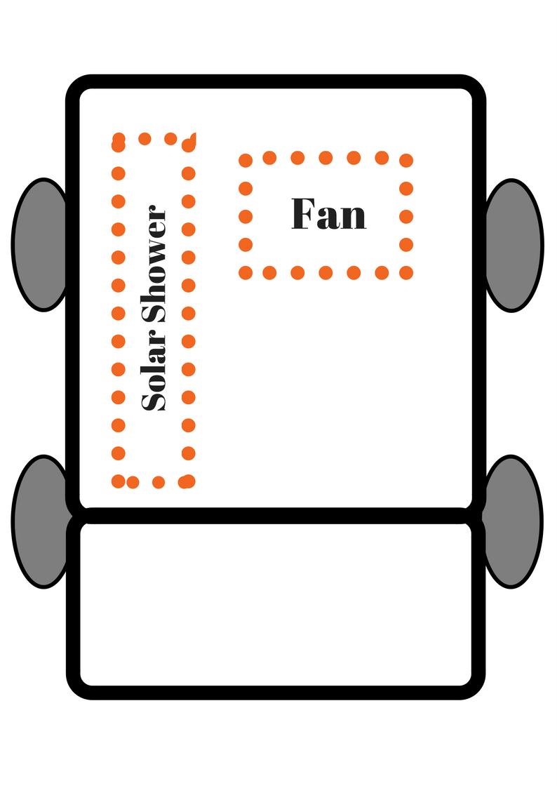 honda element camper car conversion layout plan
