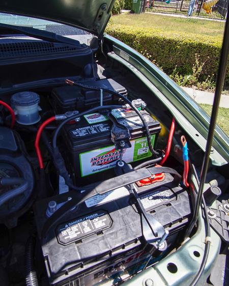 honda element conversion house battery