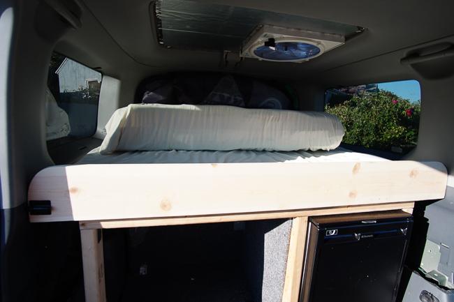suv camper bed
