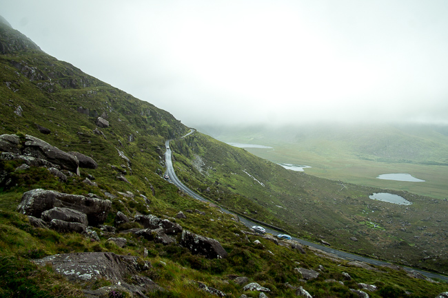 Best things to do southern Ireland Conor Pass Dingle Peninsula