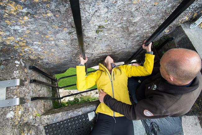 Things to do in Ireland Cork Kiss Blarney Stone