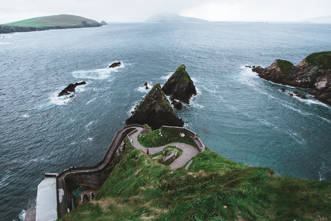 Things to see Ireland dunquin harbor dingle peninsula