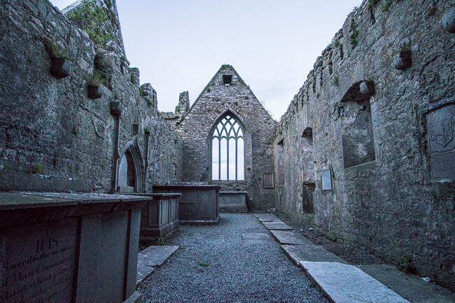 Things to see and do in Ireland Friary of Ross
