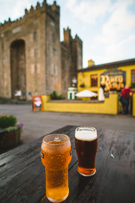 places to visit ireland beer guiness bunratty castle