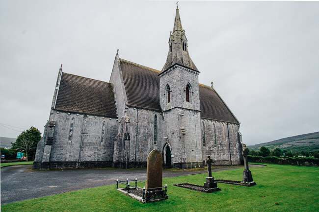 things to see and do in Ireland Sait John Baptist Church