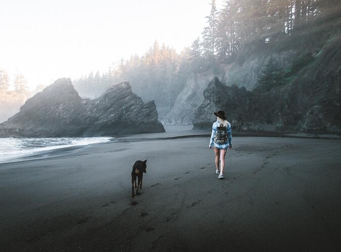 secret beach oregon coast