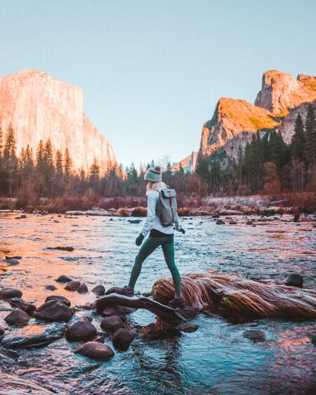 yosemite valley california fall