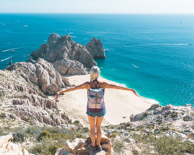 baja california points of interest el arco the arch hike cabo mexico