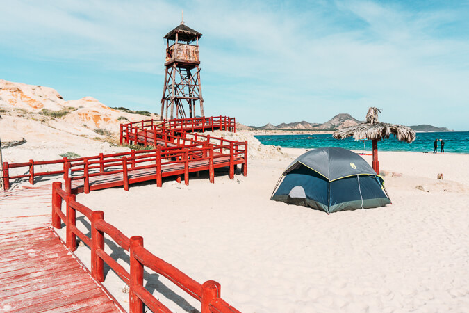 things to do in baja california sur cabo pulmo camping