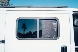 how to install RV windows in promaster van conversion