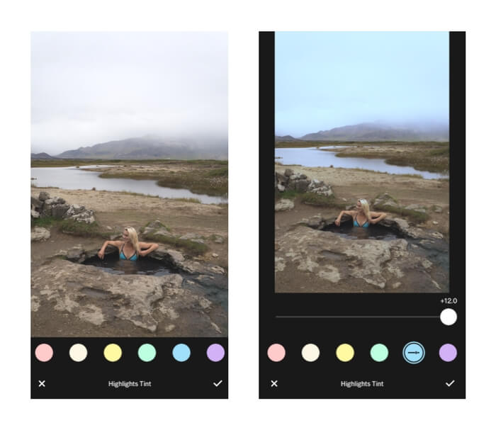 how to use vsco filters