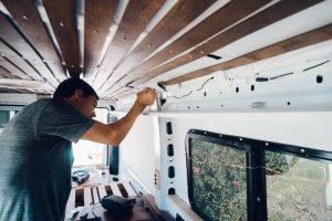 promaster camper van build wiring