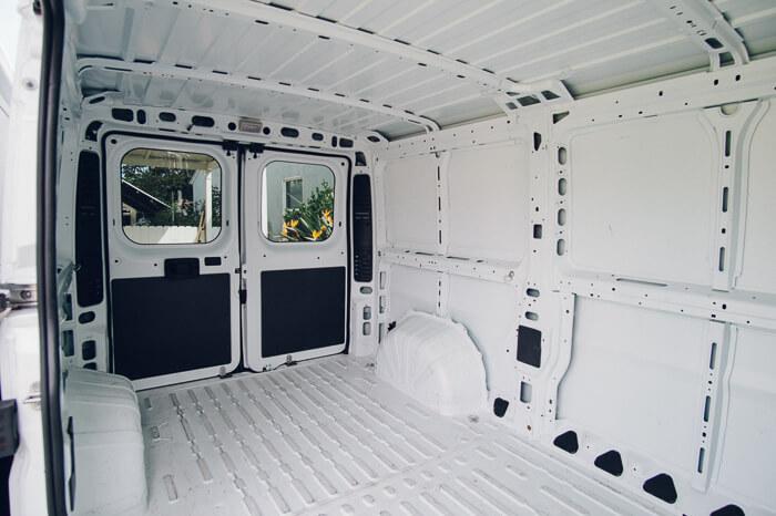 DIY Promaster Campervan Conversion Guide (Part I)