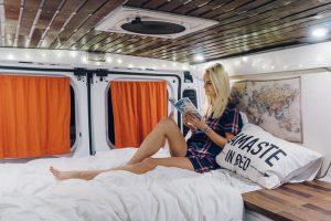 ram promaster awesome van to campervan conversion