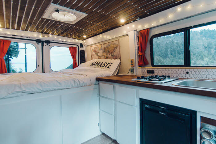 Ram Promaster Campervan Conversion Interior Built