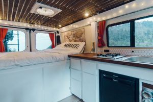 ram promaster campervan conversion interior built
