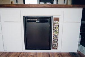 best promaster van conversion kitchen setup