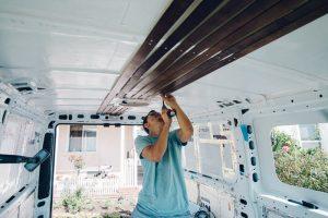 insulation promaster campervan conversion