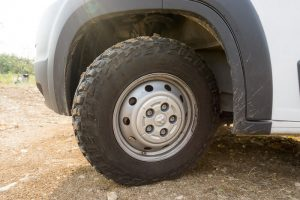 offroading tires promaster conversion