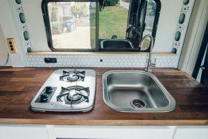 promaster campervan kitchen conversion