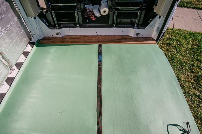 promaster van conversion floor insulation