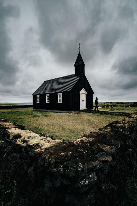 Búðakirkja Black Church Iceland Snæfellsnes peninsula