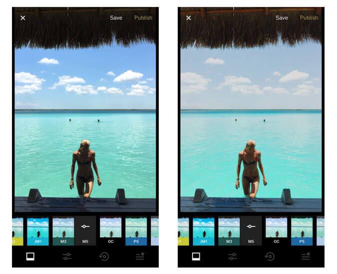 Best app for filters - VSCO