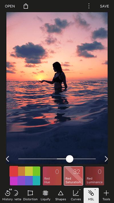 Best app for making edits - Polarr