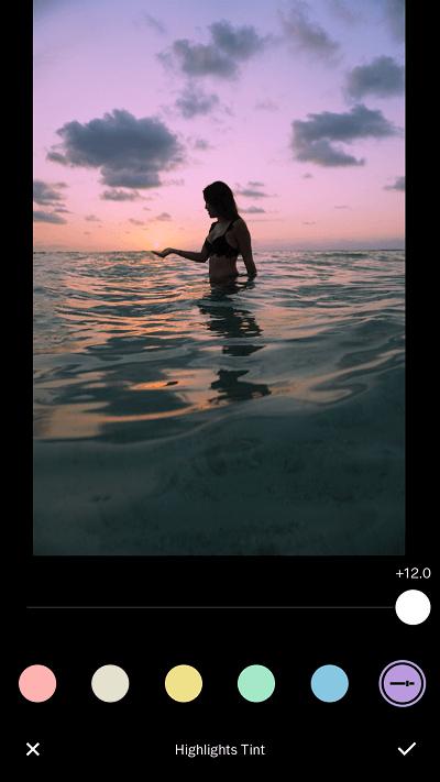 Best app for making edits - VSCO