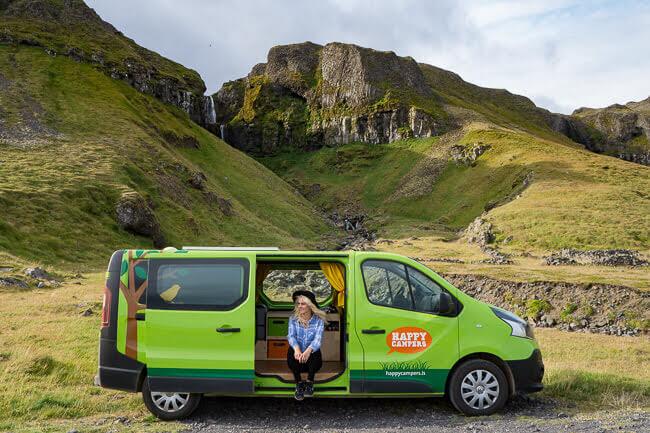 Happy Camper Van Iceland Camping Spots