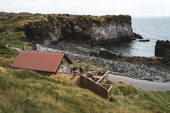 Hellnar Viewpoint Snæfellsnes peninsula