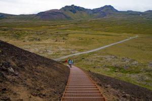 Saxholl Volcano Iceland