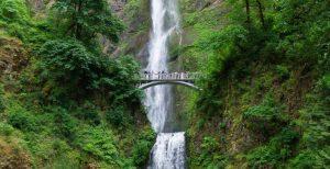 Waterfalls Near Portland - Multnomah Falls