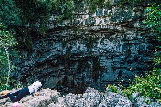 cave of swallows san luis potosi sotano de las golondrinas mexico