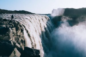 dettifoss waterfall Iceland hike