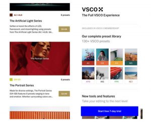 how much is VSCO X