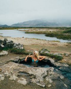 iceland Landbrotalaug hot springs smallest hotsprings Snæfellsnes peninsula