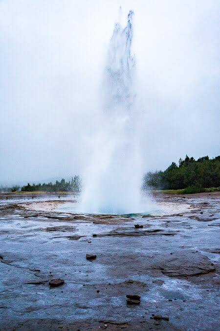 iceland Strokr Geysir golden circle