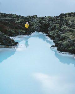 iceland blue lagoon secret lagoon summer