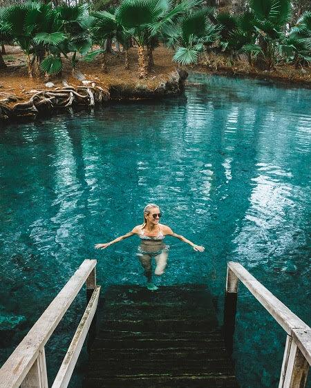 laguna de la media luna rio verde mexico