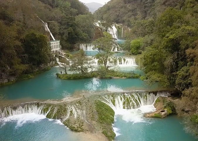 micos waterfall best places to visit huasteca potosina mexico