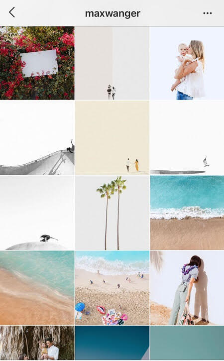 Instagram aesthetic ideas minimalist instagram feed
