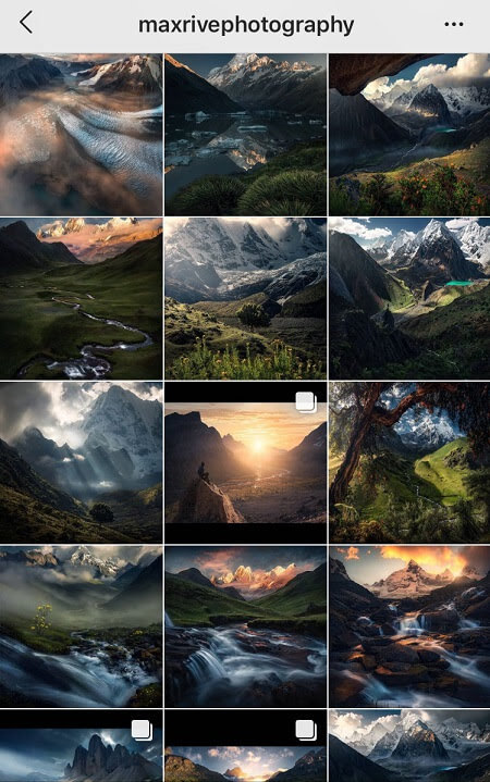 amazing instagram themes HDR theme