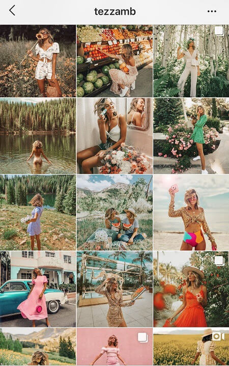 best instagram feeds vintage instagram fashion theme