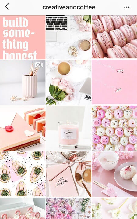 best instagram theme pink instagram theme