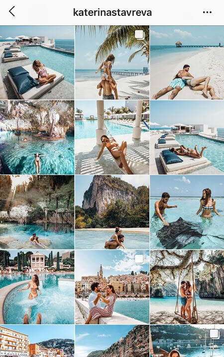 cool instagram feeds summer instagram theme